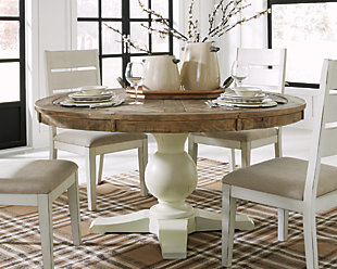 Large Grindleburg Dining Room Table Rollover