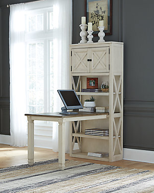 Bolanburg Large Bookcase Desk Return, , rollover