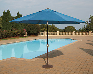 Umbrella Accessories 2-Piece 9' Octagonal Tilt Umbrella Set, , rollover