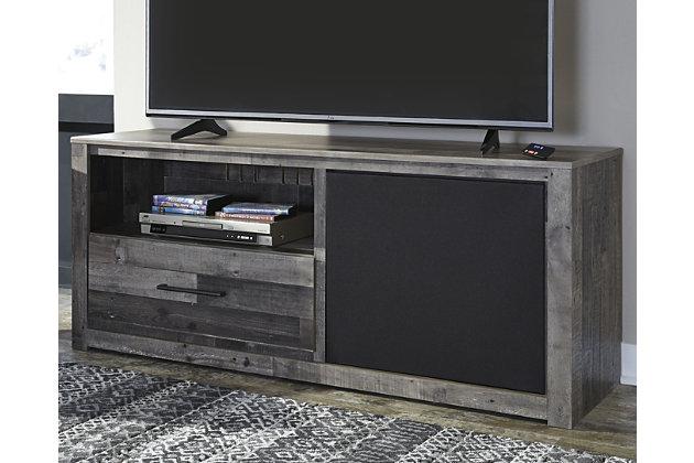 "Derekson 59"" TV Stand with Wireless Pairing Speaker, , large"
