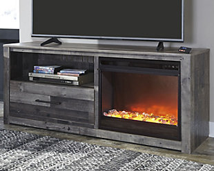 "Derekson 59"" TV Stand with Electric Fireplace, , rollover"