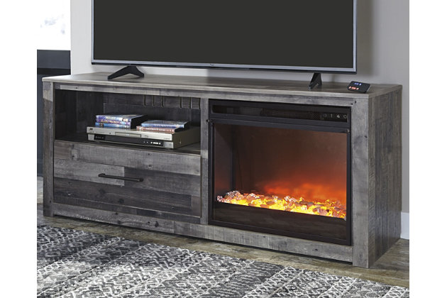 "Derekson 59"" TV Stand with Electric Fireplace, , large"