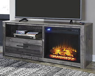 "Derekson 59"" TV Stand with Fireplace, , rollover"