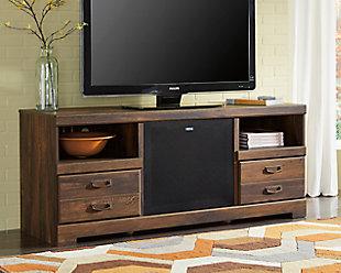 "Quinden 64"" TV Stand with Wireless Pairing Speaker, , rollover"