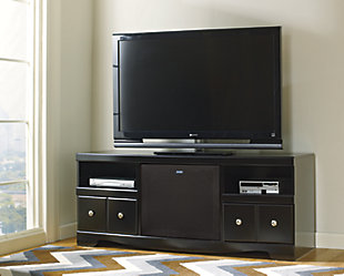 "Shay 64"" TV Stand with Wireless Pairing Speaker, , rollover"