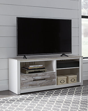 "Evanni 59"" TV Stand with Wireless Pairing Speaker, , rollover"