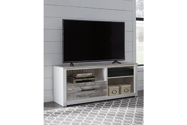 "Evanni 59"" TV Stand with Wireless Pairing Speaker, , large"