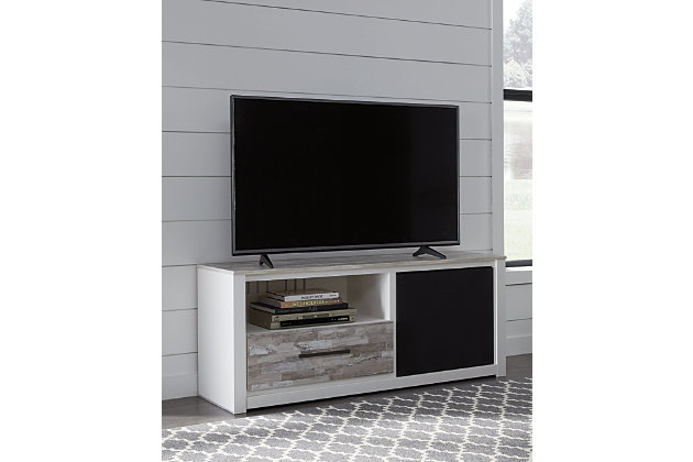 Evanni TV Stand with Wireless Pairing Speaker, , large