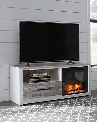 "Evanni 59"" TV Stand with Electric Fireplace, , rollover"