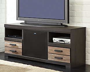 "Harlinton 64"" TV Stand with Wireless Pairing Speaker, , large"