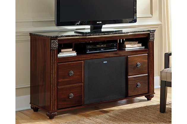 "Gabriela 59"" TV Stand with Wireless Pairing Speaker, , large"