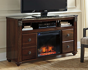 """Gabriela 59"""" TV Stand with Fireplace, , large"""