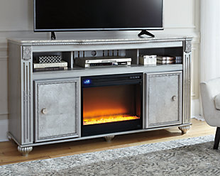 Zolena TV Stand with Fireplace, , rollover