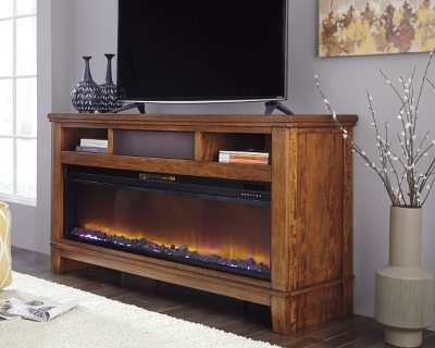 Tv Stand Fireplace Audio Option