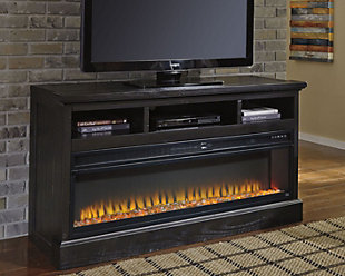 "Sharlowe 64"" TV Stand with Electric Fireplace, , rollover"