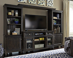 living room entertainment.  large Townser Entertainment Center rollover TV Stands and Media Centers Ashley Furniture HomeStore
