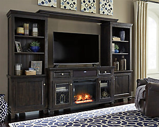 Townser Entertainment Center with Fireplace and Audio, , rollover
