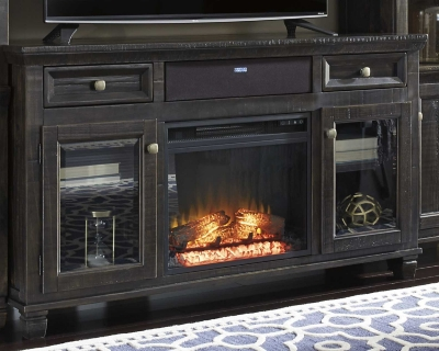 Ashley Townser TV Stand with Fireplace and Wirelss Pairin...