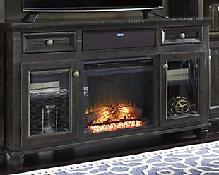 "Townser 62"" TV Stand with Fireplace and Wireless Pairing Speaker, , rollover"