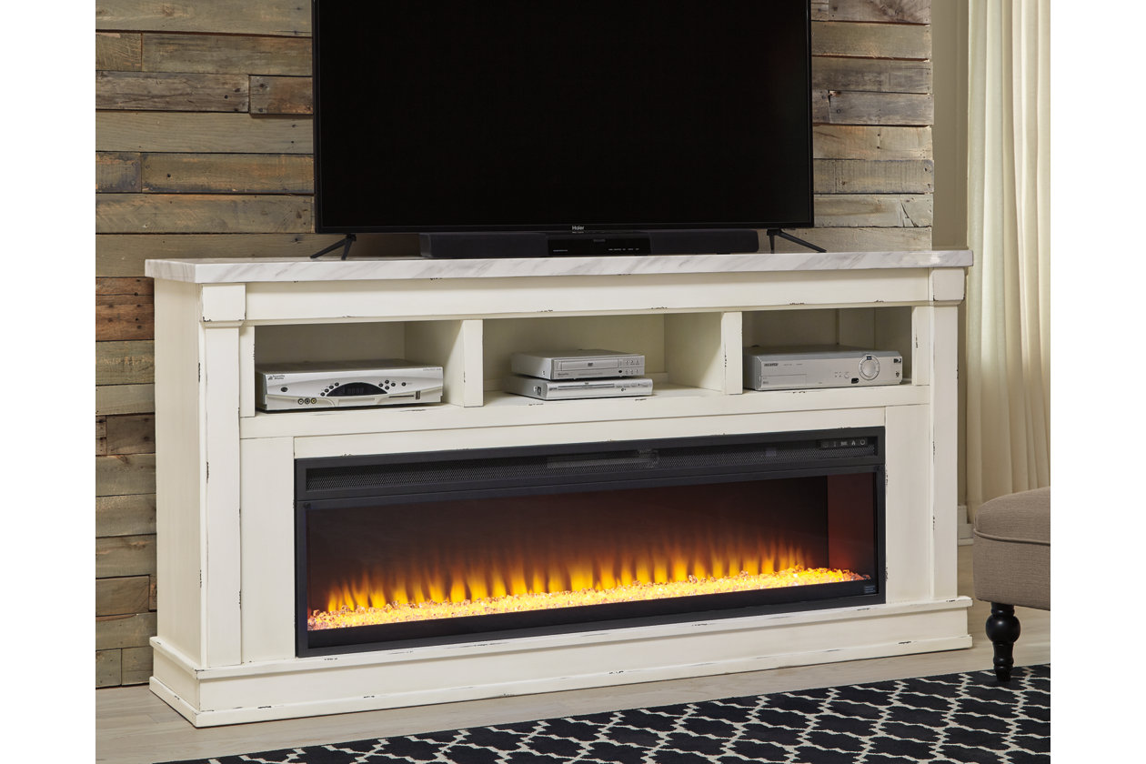 Prime Becklyn 74 Tv Stand With Electric Fireplace Ashley Download Free Architecture Designs Boapuretrmadebymaigaardcom