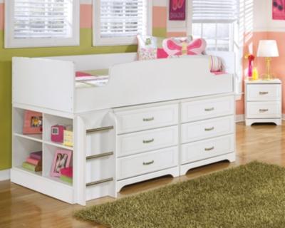 Ashley Twin Loft Bed Drawer Storage Lulu
