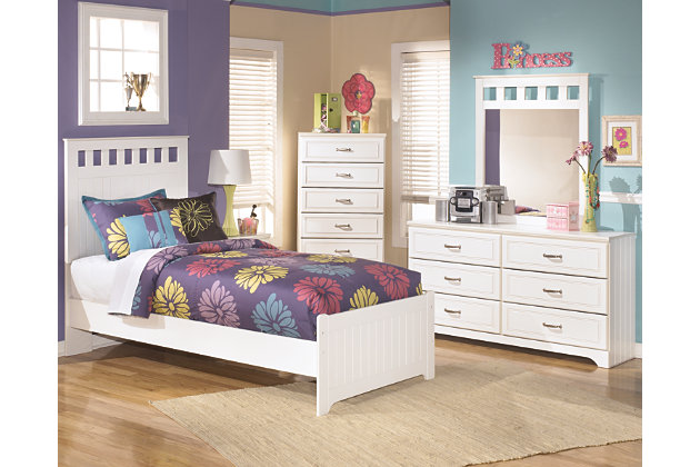 Lulu 5 Piece Twin Panel Bedroom. Bedroom Sets   Ashley Furniture HomeStore