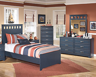 Leo 5-Piece Twin Panel Bedroom, , large