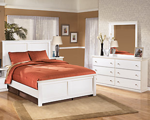 Bostwick Shoals 5-Piece Queen Master Bedroom, White, large