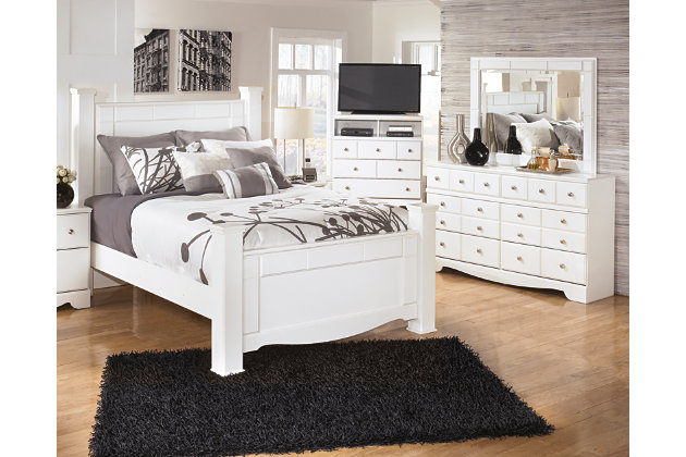 Weeki 5-Piece Queen Master Bedroom, , large