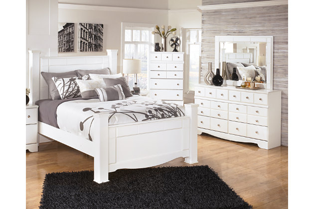 Weeki 5 piece queen master bedroom ashley furniture for Master bedroom sets queen