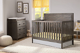 Delta Children Cambridge Dresser & Changing Table Top, , rollover