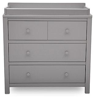Delta Children 3 Drawer Dresser & Changing Table Top, , large