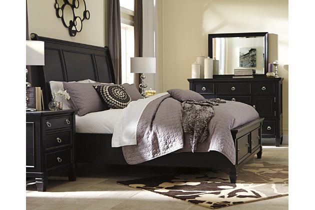 Greensburg 5-Piece Queen Master Bedroom with Storage, , large