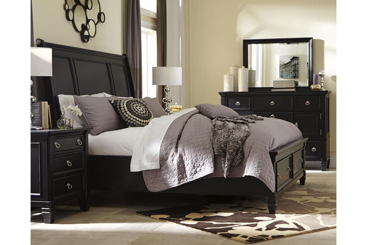 Greensburg 5-Piece Queen Master Bedroom with Storage   Ashley ...