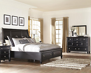 Greensburg 5-Piece Queen Master Bedroom w/ Storage, , large