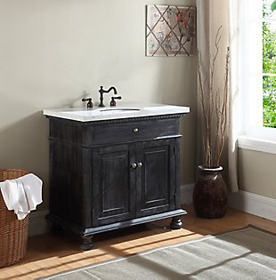Bathroom Accent Cabinet and Sink, , rollover