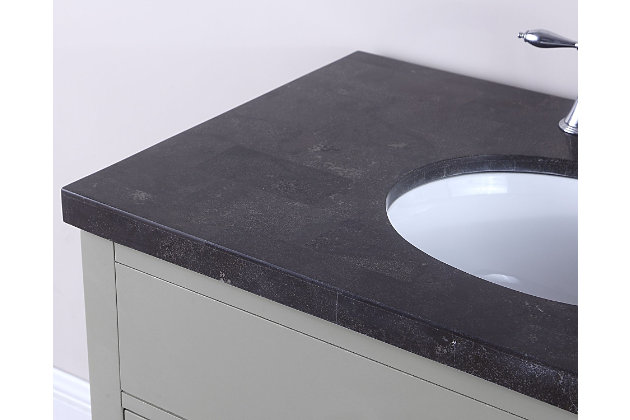 Newport Bathroom Vanity and Sink, , large
