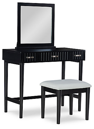 Emi Black Vanity Set, , large