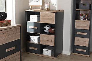 Mid Century Modern 4-Drawer Storage Cabinet, , rollover