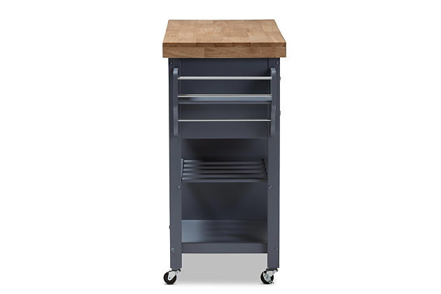 Rolling Kitchen Cart, , large