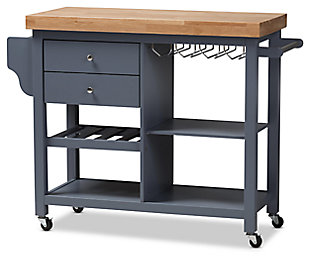 Rolling Kitchen Cart, , large