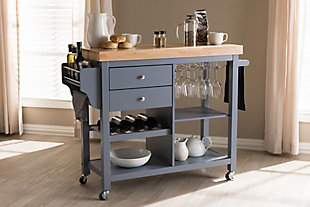 Rolling Kitchen Cart, , rollover
