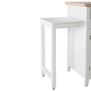 Saddle Sheridan Kitchen Cart, , large