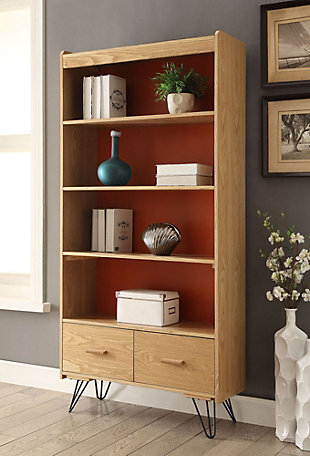 Perry Bookcase with Drawer, , rollover