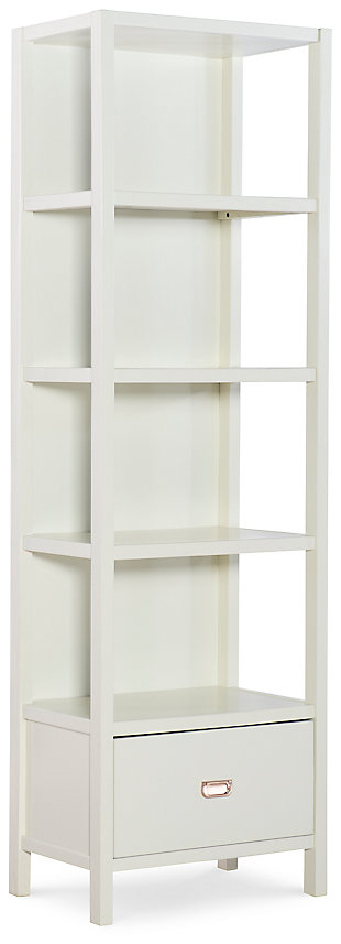 Paige Bookcase with Drawer, , large