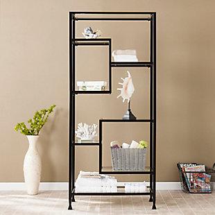 Mirelle Asymmetrical Étagère Bookcase, , rollover