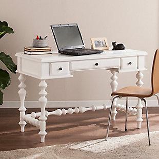 Gilman Turned-Leg Writing Desk, , rollover
