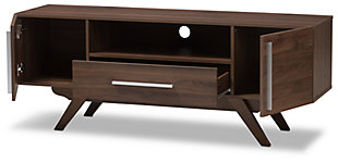 Ashfield TV Stand, Brown, large