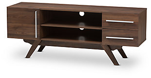 "Ashfield Baxton Studio 59"" TV Stand, Brown, large"