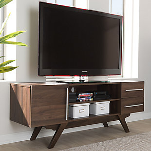"Ashfield Baxton Studio 59"" TV Stand, Brown, rollover"